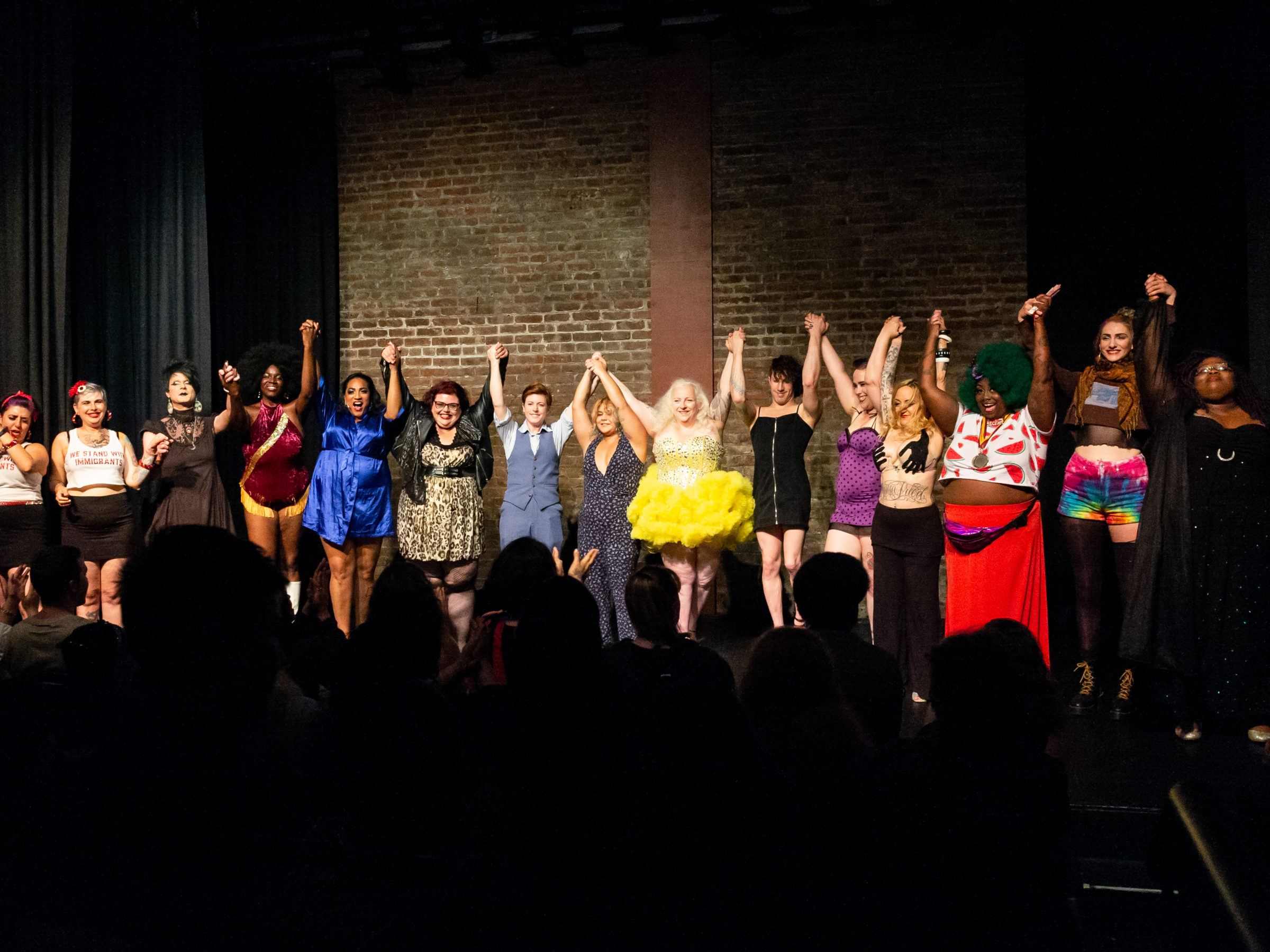 Body Political Curtain Call June 2018, photo by Astra Kim